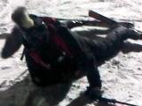 Кружим в стиле вальса на горных лыжах с